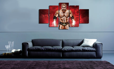 HD Printed Triple H 5 Pieces Canvas C
