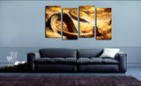 HD Printed Dragon Ball 3 + 4 Pieces Canvas