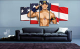 HD Printed John Cena 5 Pieces Canvas D