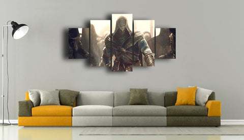 HD Printed Assassin's Creed - Movies 5 Pieces Canvas A