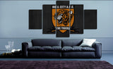 HD Printed Hull City AFC Logo 5 Pieces Canvas