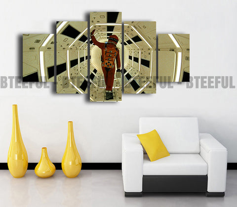 HD Printed A Space Odyssey - Movies 5 Pieces Canvas A