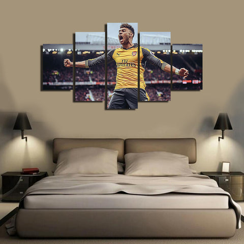 HD Printed Chamberlain 5 Pieces Canvas