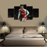 HD Printed Mesut Ozil 5 Pieces Canvas