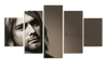 HD Printed Kurt Cobain 5 Pieces Canvas A