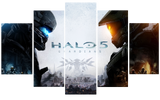 HD Printed Xbox Halo 5 Pieces Canvas