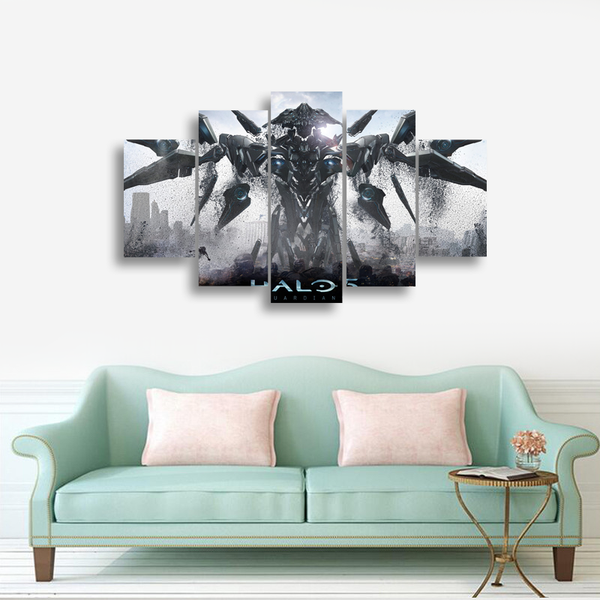 HD Printed Xbox Halo 5 - Guardians Pieces Canvas