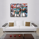 HD Printed Zach Thomas - Miami Dolphins 5 Pieces Canvas