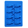 8 Holes Lego Mini Figure Robot Ice Cube Tray Mold Chocolate Cake Jelly Jello Silicone Mold Fondant Moulds Cake Tools