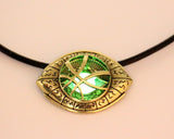 Doctor Strange Necklace Glow in Dark Eye Shape