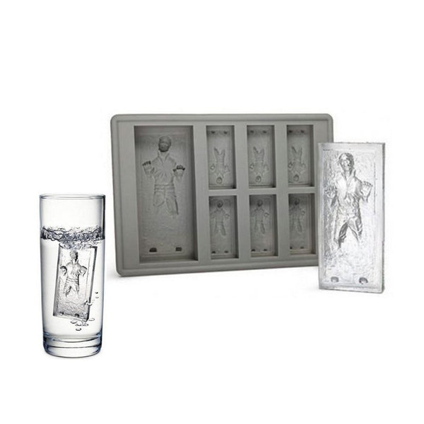 Star Wars Han Solo In Carbonite Silicon Ice Cube Tray Chocolate Baking Mould