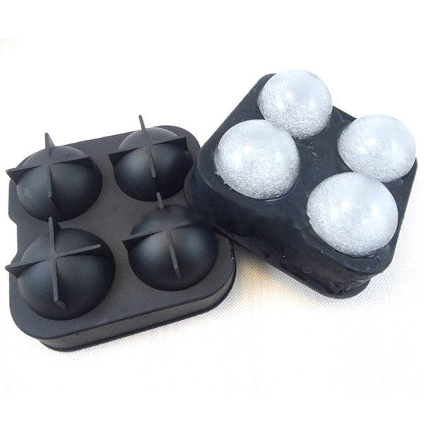 Bar Drink Whiskey Sphere Big Round Ball Ice Brick Cube Maker Tray Mold Mould