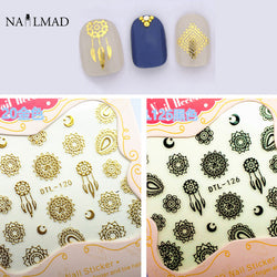 1 Sheet Dreamcatcher Nail Art 3D Stickers Mandala Flower
