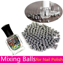 20/100pcs 6mm Nail Polish Mixing Balls