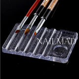 1pc Acrylic Brush Holder-Clear