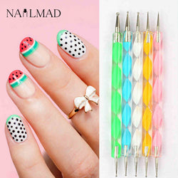 5Pcs Nail Art Dotting Pen