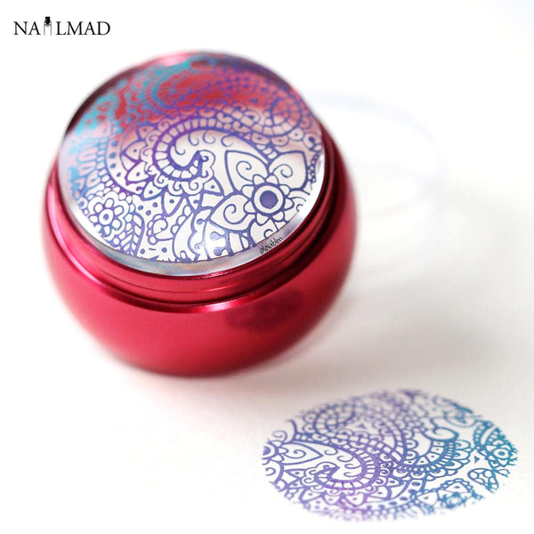 2pcs/set 3.6cm Clear Jelly Stamper - 3 colors
