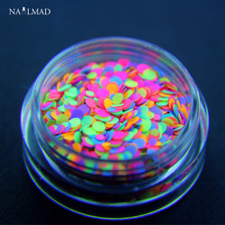 Round Nail Glitter 1mm 2mm Mixed