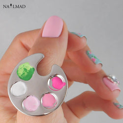 1pc Nail Art Ring Palette