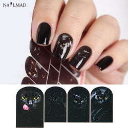 1 sheet Cat Eye Nail Water Decals