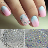 1400pcs/bag 1.2mm Zircon Nail Rhinestones - 2 colors