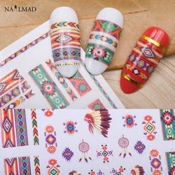 1 sheet Tribal 3D Nail Art Stickers