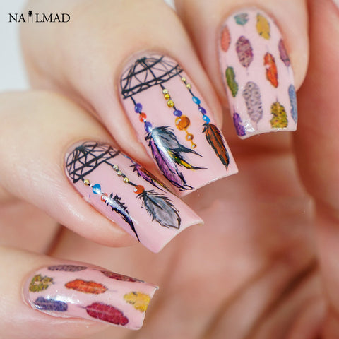 1 Sheet Dreamcatcher Nail Water Decals
