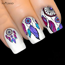 Feather Dreamcatcher Nail Stickers