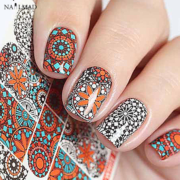 1 sheet Artascope Nail Water Decals