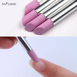 1pc Cuticle Pusher Stone Nail Art Cuticle Remover