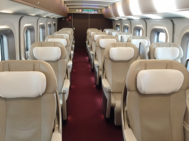 Gran class - a luxurious Shinkansen trip