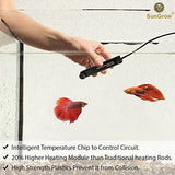 Luffy 10W Betta Heater, for Small Tanks (1.5 gal.), Fully Submersible Aquarium Heater, Automatically Reaches Preset Temperature, Energy-efficient Heating Module, Suction Cups for Easy Installation 30 quantity