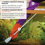 20 pcs Aquarium Gravel Cleaner Kit with priming bulb: BPA Free, Easy-to-Use, Perfect for Small Fish Tanks