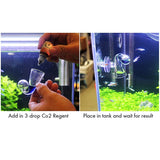 Co2 Indicator Solution (2 pcs) - Glass Drop Checker Replacement Solution for Aquarium