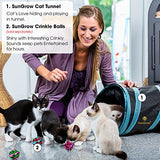 Collapsible Cat Tunnel - Interactive Play Toy