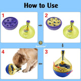 Interactive Dog Toy - Dog puzzle and treat dispenser