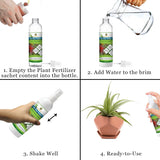 Air Plant Fertilizer for Bromeliads : Water-Soluble Custom Blend Plant Food