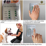 Dog Feed Magnetic Reminder Sticker by SunGrow