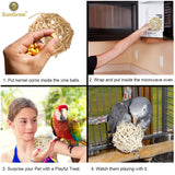 Popcorn Ball for Birds and Small Pets