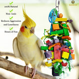 Bird Chewing Toy by SunGrow –The Perfect Parrot Toy