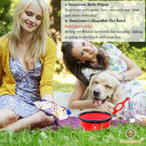 SunGrow Pet Deodorizing Bath Wipes