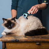 Vet Approved Deshedding Brush by SunGrow