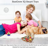 Unique Shuffle Puzzle Smart Toy for Puppies by SunGrow