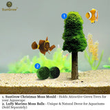 Aquarium Moss Decoration (2pcs) by SunGrow