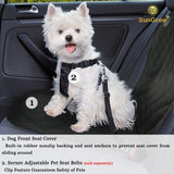 Dog Front Seat Car Cover by SunGrow
