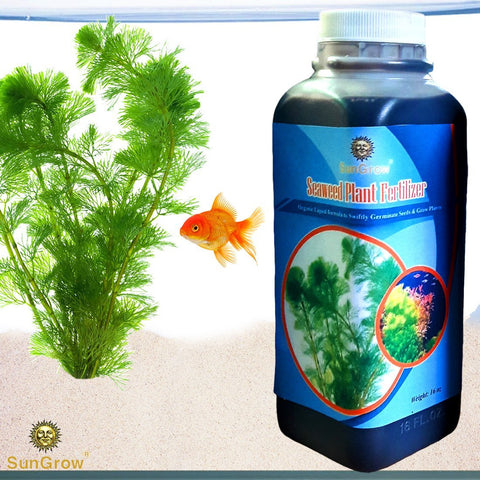 Liquid Seaweed Plant Fertilizer for Aquariums - 16oz