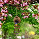 SunGrow Bird House with Ladder