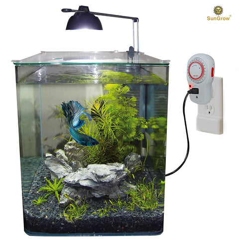 24 Hour Analog Timer for Aquarium Lights by SunGrow