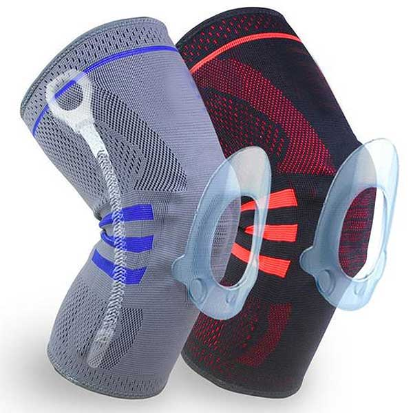 Silicone Compression Knee Support Sleeve - Blown Biker - 1