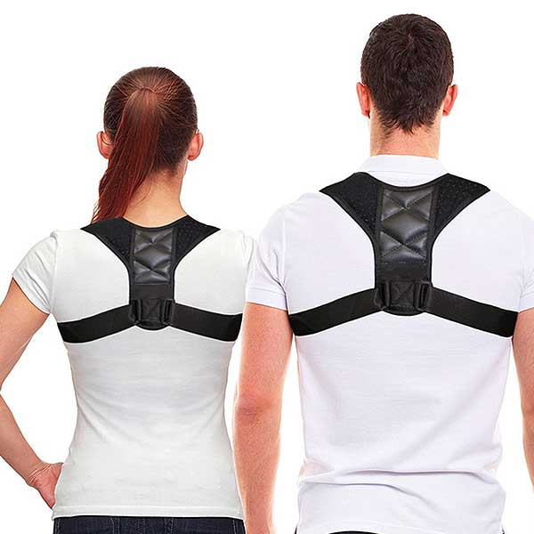 """Straight-Up"" Back Posture Corrector - Blown Biker - 1"